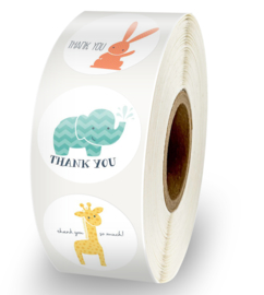 """Stickers """"Thank you"""""""
