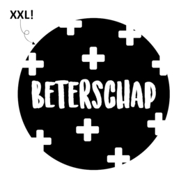 """Sticker """"Beterschap"""""""