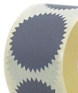 Sticker deco ster grijs