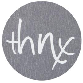 """Sticker """"thnx"""""""