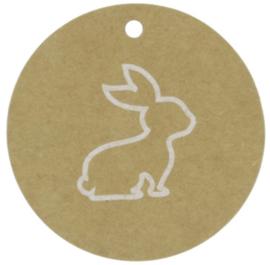"""Labels konijn """"pasen"""""""