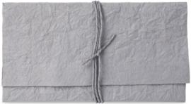 Kado envelop clutch grijs