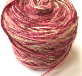 Koord twisted flaxcord pink