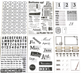 Stickers Bullet Journal nr. A8