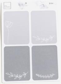 Stickers Bullet Journal nr. D 5.4