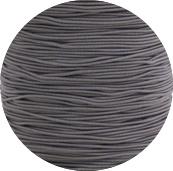 Koord elastisch grijs