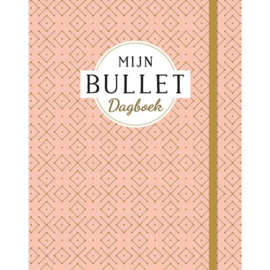 Bullet journal deltas roze/goud