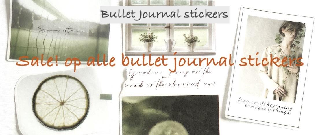 sale bulletjournal stickers