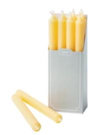 12 yellow kaarsen