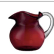 Acrylic tumbler rossa small