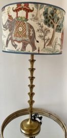 Lamp elephant bamboo