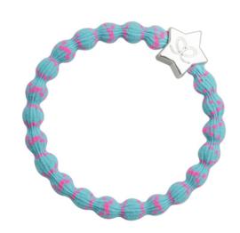 armband/haarelastiekje turqouise