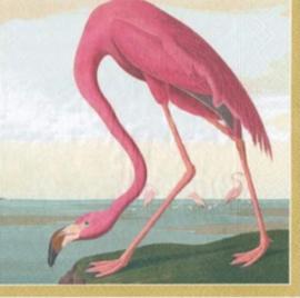 Servet multi flamingo