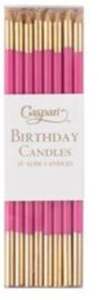 16 birthday candles fuchsia