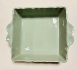 Ovenschaal vierkant sea green