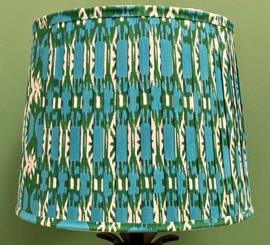 Kap plissé groen