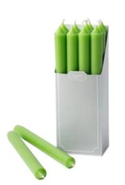 12 spring green kaarsen
