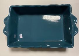 Ovenschaal rechthoek blue