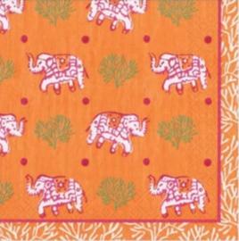 Servet pink elephant