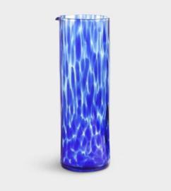 Karaf blauw