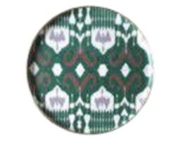 Tray  round green 36cm