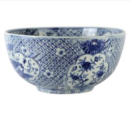 Fruit bowl blue