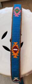 Unisex riem blauw 90cm