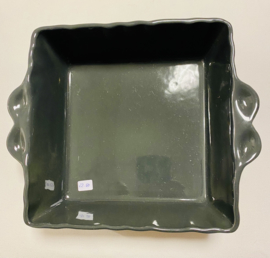Ovenschaal vierkant dark grey