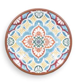 Terracotta plate multi color