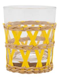 Glas riet geel
