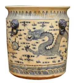 chinese blauwe pot drake grande