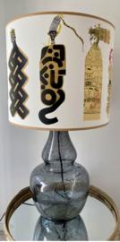 Grijs/blauwe lamp pop