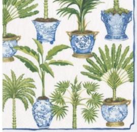 Servet flowerpot