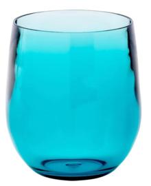 Acrylis glass blue