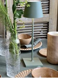 Oplaadbare lamp groen