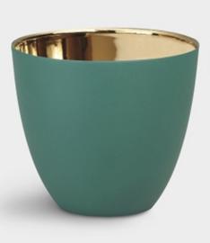 Tealight gold green