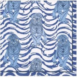 Servet blue panter