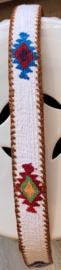 Unisex riem white 95cm
