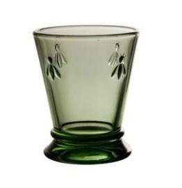 Glas abeilles groen