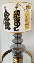 Grijs/blauwe lamp poppen