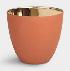 Tealight gold terracotta