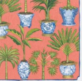 Servet green palm