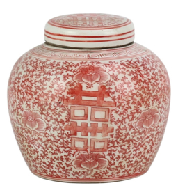 chinese  pot orange