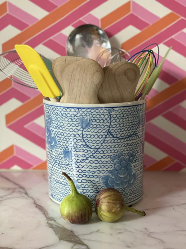 Chinese blauwe pot viber