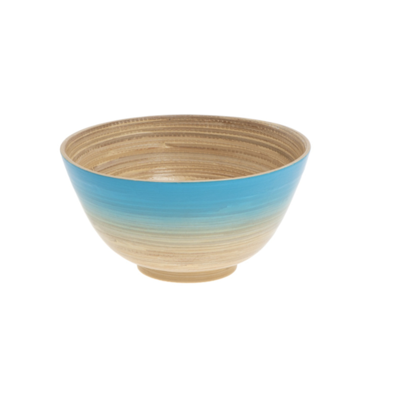 Bakje bamboo blauw