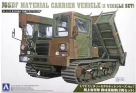 Aoshima   007976   JGSDF Material carrier vehicle 2x   1:72