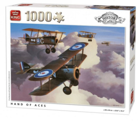 King | Puzzel 1000 | Hand of Aces