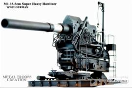 M1 35,5cm schweres Geschütz WWII | 1:35