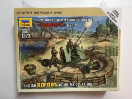 40mm Bofors & crew