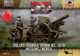100mm Polish wz. 14/19 Howitzer
